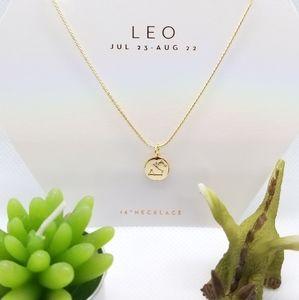 """Jewelry - Zodiac """"LEO """" Astrology Necklace"""